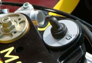 Тумблер включения зажигания гоночного мотоцикла