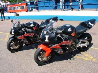 Учебные мотоциклы - Honda Fireblade