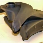 Пластмассовый гоночный бензобак