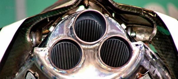 WSB: Глушитель супербайка Foggy Petronas