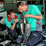 WSB: обслуживание глушителя мотоцикла Foggy Petronas