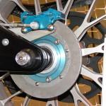 Задний керамический тормозной диск