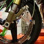 Тормозной диск на ободе колеса