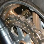 Вентилируемый тормозной диск мотоцикла для дрэгрейсинга