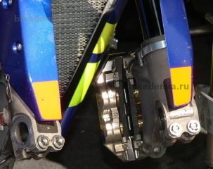 MotoGP: карбоновые тормозные колодки