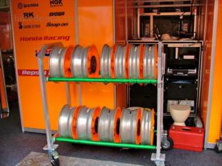 MotoGP: колесные диски мотоцикла Honda RC211V