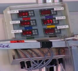 Блок управления нагревателями шин