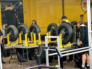 MotoGP: балансировка колес