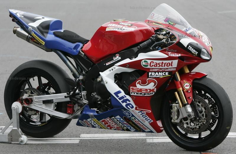 Мотоцикл Yamaha YZF-R1 для гонок на выносливость