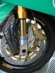 Вилка Ohlins дорожной версии мотоцикла Foggy Petronas