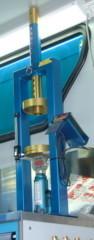 Стенд для измерения жесткости пружин амортизаторов