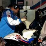 Заправка мотоцикла Suzuki GSV-R