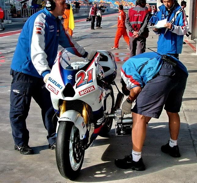 MotoGP: Запуск двигателя Suzuki GSV-R
