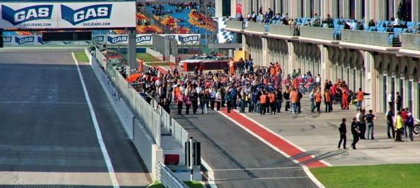 MotoGP: Пит-лейн гоночной трассы Istanbul Park