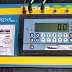 Пульт электронных весов для измерения массы мотоциклов